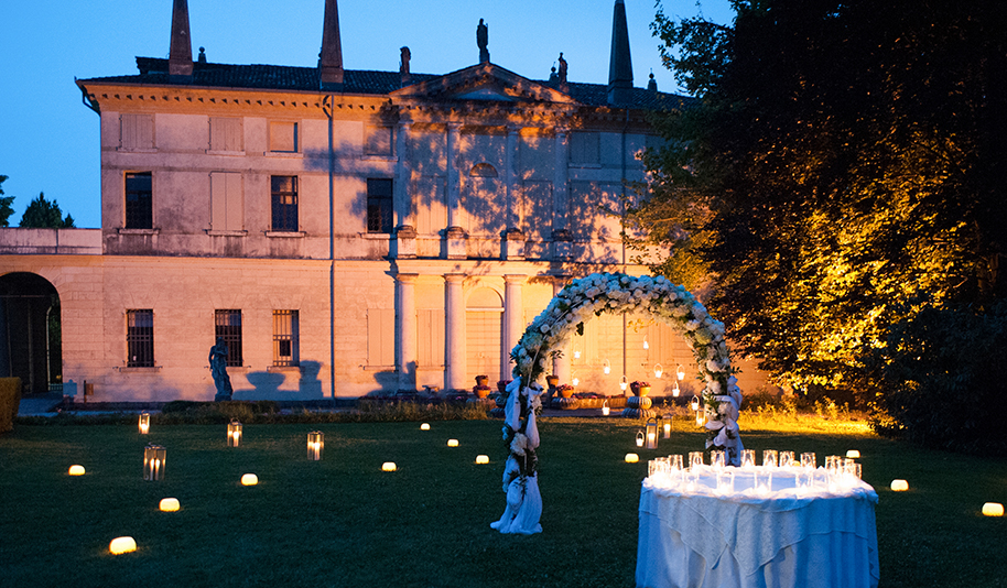 wedding night, villa foscarini rossi