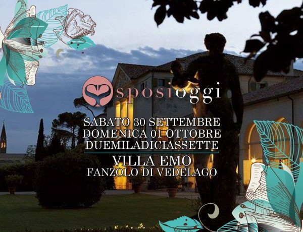 Sposi Oggi in Villa Emo 2017, wednews