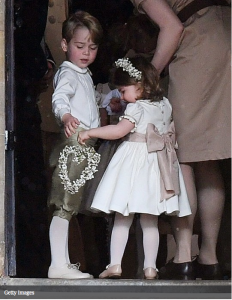 George e Charlotte, royal wedding